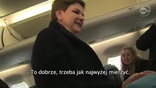 Szydło: Prowadzimy tak intensywne życie międzynarodowe, że się zaczynam  zastanawiać, czy jesteśmy premierem Europy, czy jesteśmy premierem  Polski