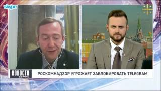 Урван Парфентьев о сетевой перепалке Жарова и Дурова и мессенджерах