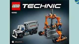 42062 B Container Straddle-Carrier LEGO® Technic Manual at the Brickmanuals Instruction Archive