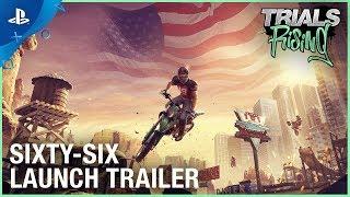 Trials Rising - Sixty Six DLC Launch Trailer | PS4