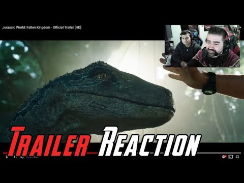 Jurassic World: Fallen Kingdom Angry Trailer Reaction