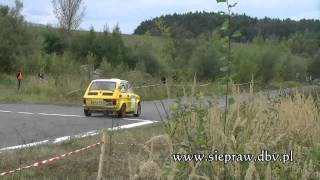 preview picture of video 'III eliminacja pucharu WRT Rally Oes-MOTUL Kraków,Dobczyce 2012.'