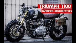 Triumph Customs Cafe Racer | DOWN & OUT TRIUMPH T100 Modified Motorcycles