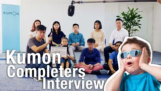 Group Testimonial [SINGAPORE KUMON COMPLETERS]