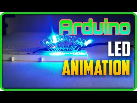3 Different LED Animations using Arduino with Codes