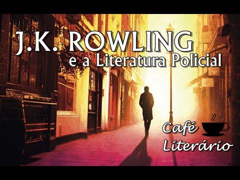 Café Literário #2: J.K. Rowling e a Literatura Policial