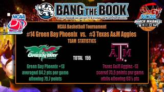 Texas A&M vs Green Bay March Madness Pick, Odds & Prediction