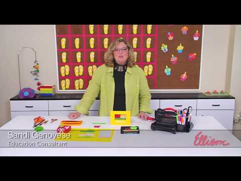 DIY Holiday Card or Gift Tag | Ellison Education Lesson Plan #12147