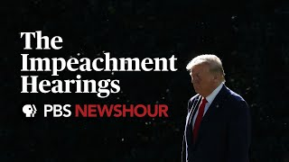 WATCH LIVE: House committee debates rules for impeachment vote