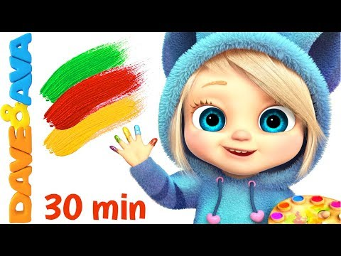 Download 🤩Baby Songs   Finger Family Colors Nursery Rhymes for Kids   Learn Colors with Baby Songs and Rhymes