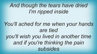 Tasmin Archer - Ripped Inside Lyrics