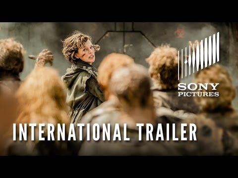 New Official Trailer for Resident Evil: The Final Chapter