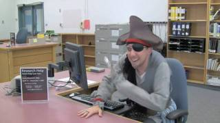 Pirates at the Research Help Desk