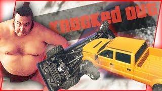 *WORLD RECORD* Drunk Sumo Car Wrestling Match! - GTA Funny Moments
