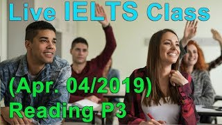 IELTS Live Class - General Reading - Example and Tips for Band 9