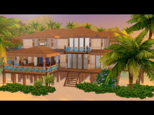 Lassen Sie uns ein tropisches Strand-Haus in The Sims 4 (Teil 2) errichten  - vTomb