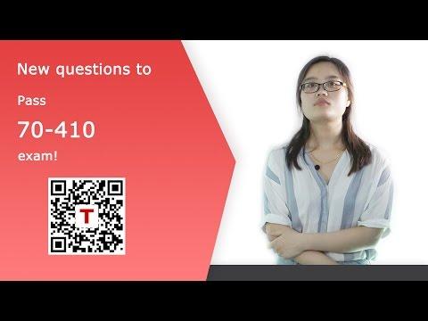 [Testpassport] Offer: Microsoft 70-410 Exam Dumps 70-410 Test ...