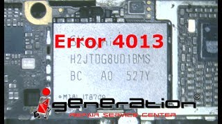 iPhone 6 Error 4013 Fix after water damage treatment - Lets find a solution