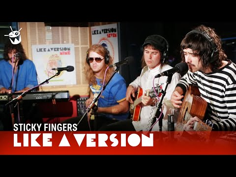 Sticky Fingers - 'Rum Rage' (live on triple j) (видео)