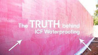 This Pink Stuff is The Secret to ICF Waterproofing