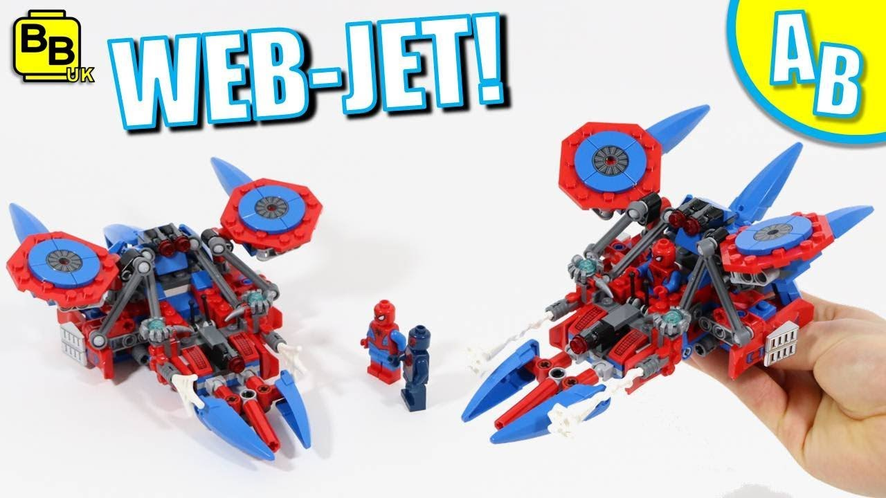 LEGO SPIDER-MAN WEB-JET 76114 ALTERNATIVE BUILD