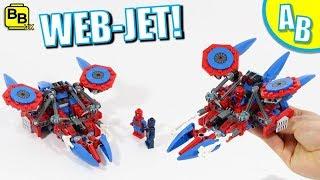LEGO SPIDER-MAN WEB-JET 76114 ALTERNATIVE BUILD