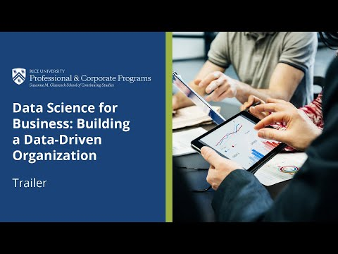 Rice Data Science for Business | Course Trailer
