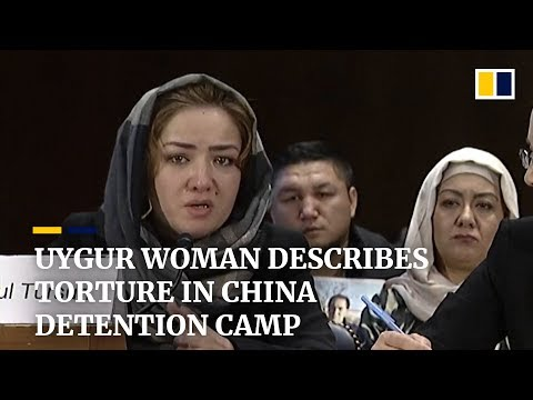 Download Uygur woman describes torture in China's Xinjiang 'vocational training' camps HD Mp4 3GP Video and MP3