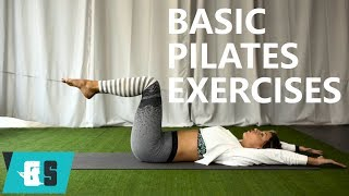 Basic Pilates Exercises / Βασικές Ασκήσεις Πιλάτες | Χριστιάννα Σμαραγδή | 21/11/17