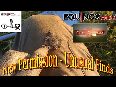 Metal Detecting UK - New Permission - Unusual Finds