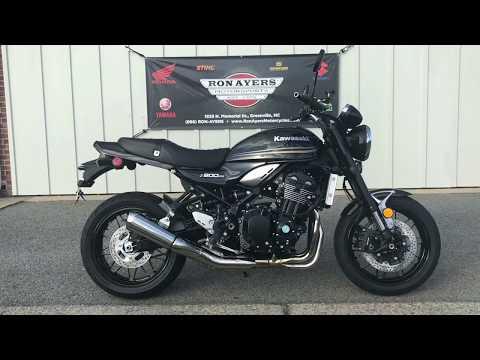 2018 Kawasaki Z900RS in Greenville, North Carolina - Video 1