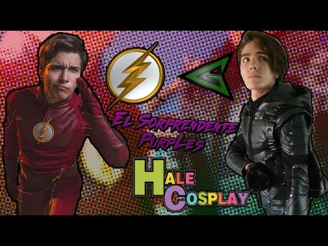 Sarpados cosplays de Flash y Arrow por Hale Cosplay