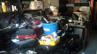 9_20_2015,  Honda 8HP engine becomes parts,
