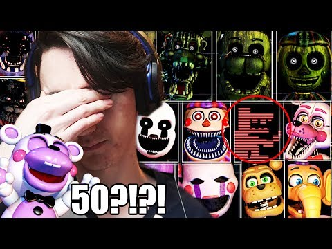 50 ANIMATRONICS?! WHAT IS GOING ON!!! ||