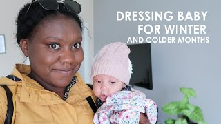 HOW TO DRESS BABY IN WINTER | DRESSING BABY FOR WINTER (....& COLDER WEATHER)