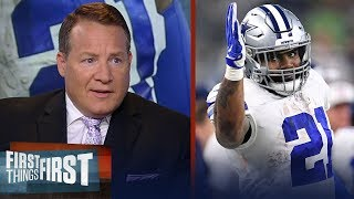 Will the Cowboys improve on last year's record? Eric Mangini discusses | NFL | FIRST THINGS FIRST