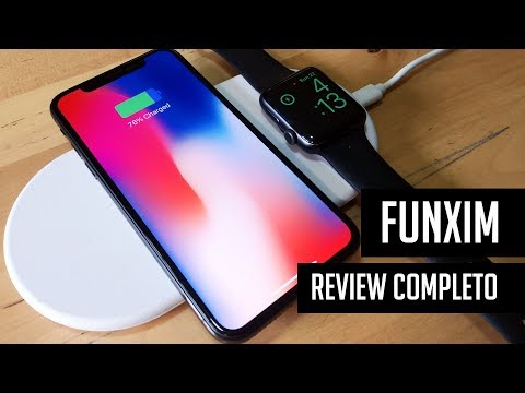 Funxim, cargador inalámbrico de bajo costo para iPhone y Apple Watch