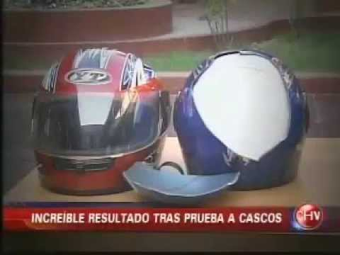 CHV Noticias Central: Cascos no certificados se venden en Santiago