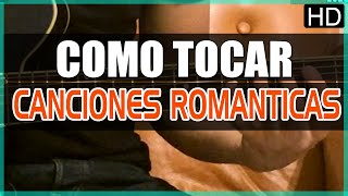 Como Tocar   Canciones Romanticas   Arpegios   Tutorial Guitarra (HD)