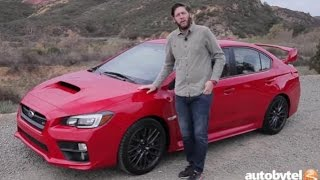 2016 Subaru WRX STI Test Drive Video Review