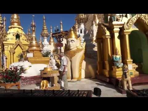Мьянма. Янгон. Золотая пагода Шведагон