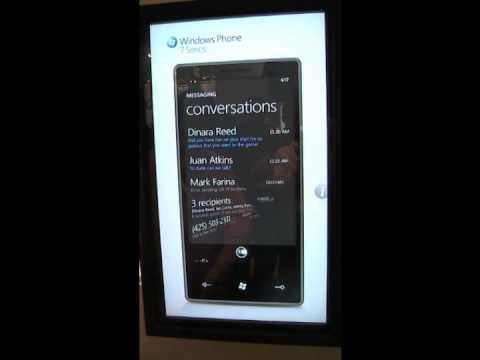 Windows Phone 7: First Videos