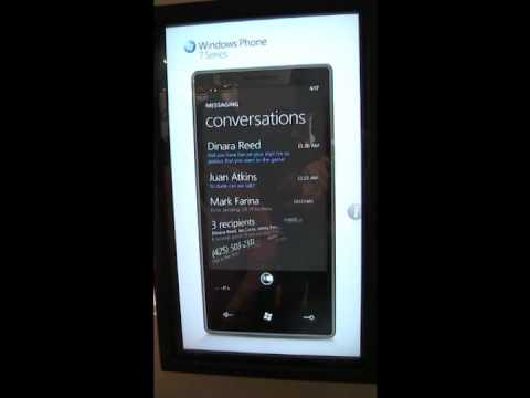 Windows Phone 7: First Videos