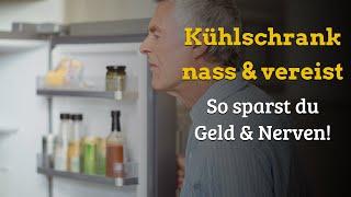 Kühlschrank Rückwand vereist - Kondenswasser im Kühlschrank - Ist das gefährlich? Strom sparen!