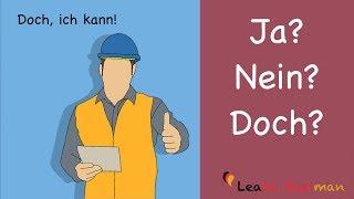 Learn German | Common Mistakes in German | ja nein oder doch? | A1