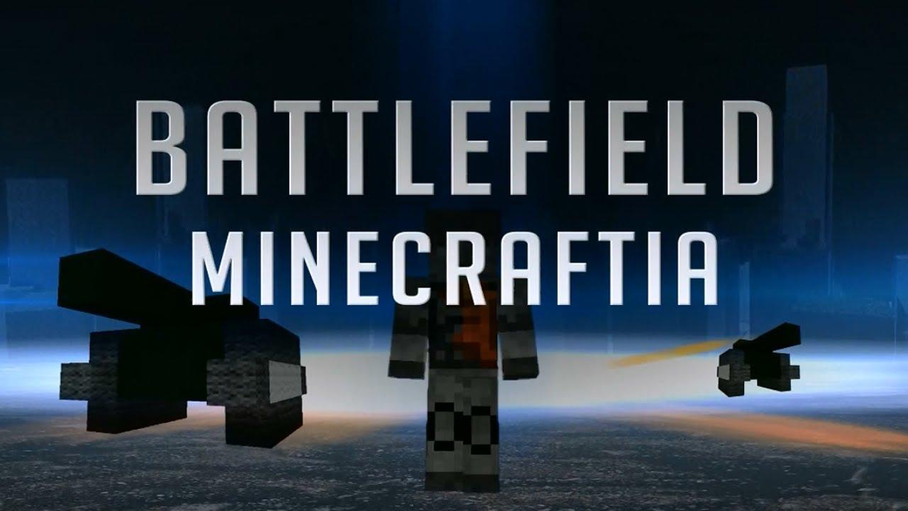 Battlefield 3 Trailer + Minecraft = Minefield