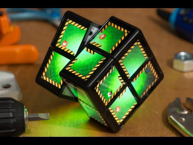 Предприимчивые инженеры изобрели гибрид игровой консоли и кубика Рубика