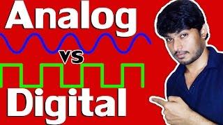 Analog vs Digital | Explained in Hindi