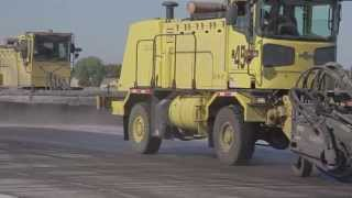 AEROGREEN 4035 Runway Rubber Removal (Brooming)