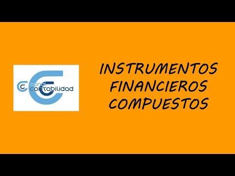 INSTRUMENTOS FINANCIEROS COMPUESTOS
